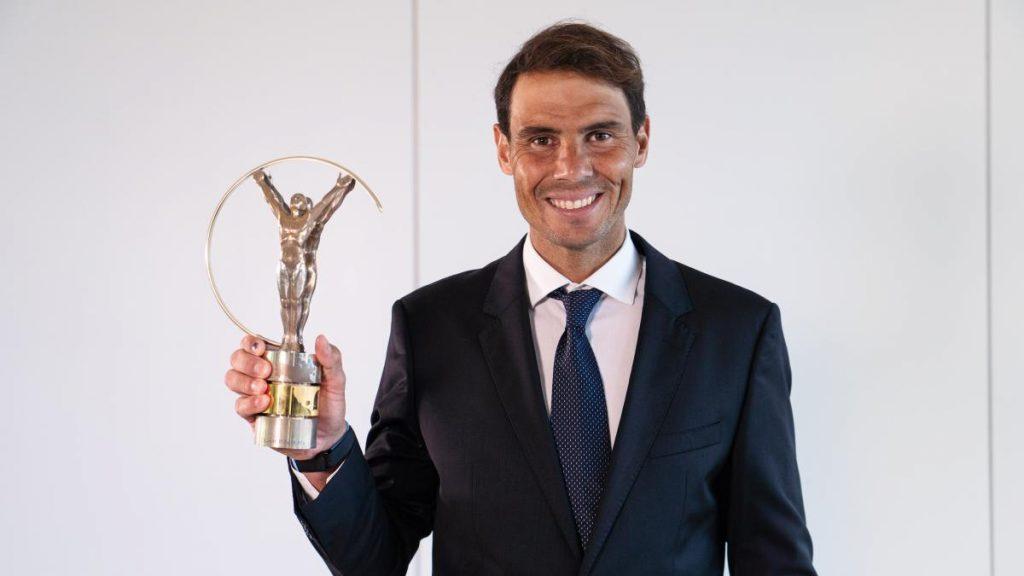 """Rafa Nadal, premio Laureus al """"mejor deportista masculino"""" del año;  Osaka y Bayern también protagonistas"""