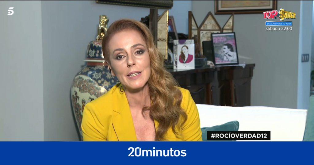 """Rocío Carrasco interviene en su documental y anuncia que estará en el plató el miércoles: """"No hay más miedo"""""""