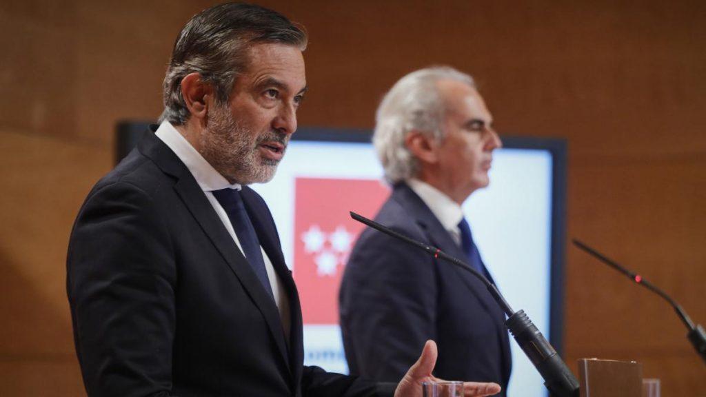 Rueda de prensa sobre medidas en la Comunidad de Madrid antes del fin del estado de alarma