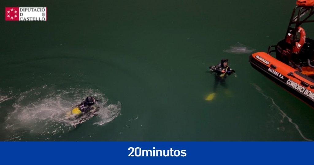 Se suspende la búsqueda sin encontrar a la segunda persona desaparecida en el puerto de Castellón
