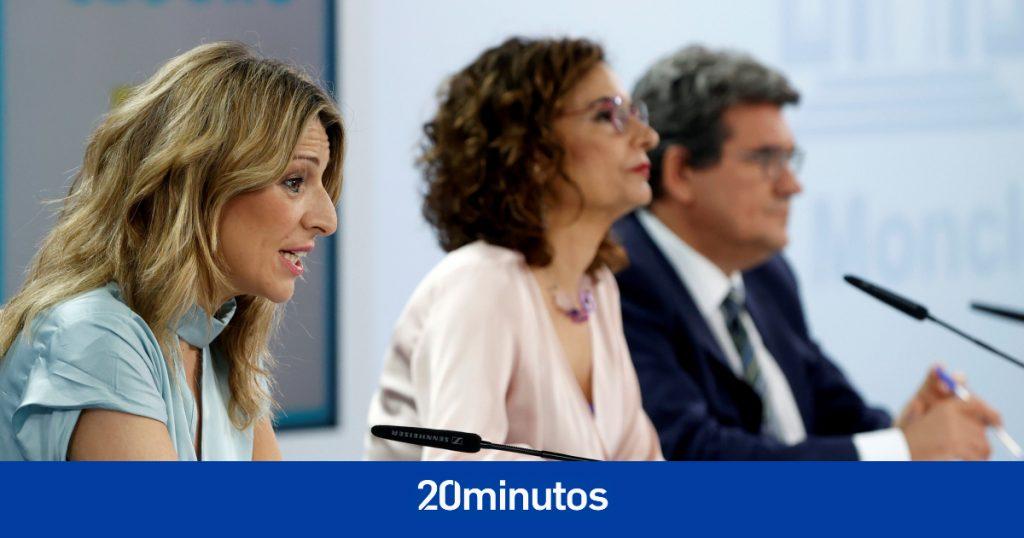Siga la rueda de prensa del Consejo de Ministros que explica los detalles de la ampliación de la ERTE