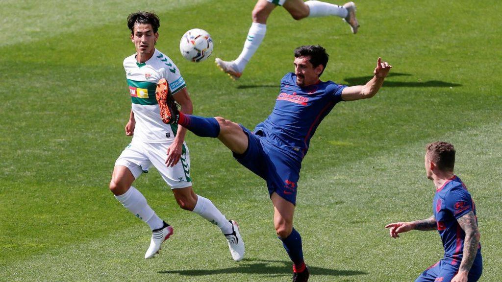 Sigue Elche vs.  Atlético