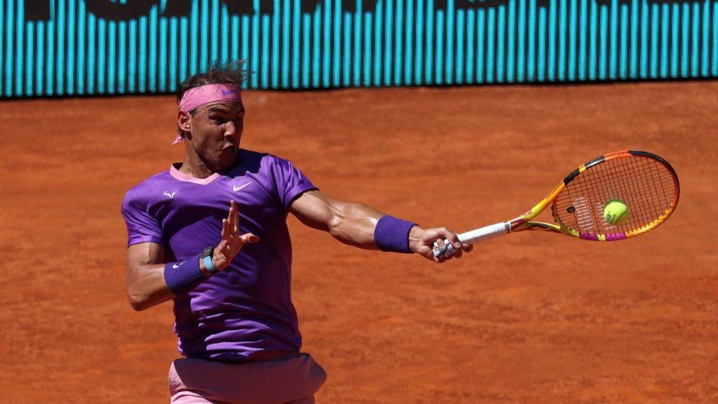 Sigue a Rafa Nadal vs.  Alexander Zverev de los cuartos de final del Mutua Madrid Open