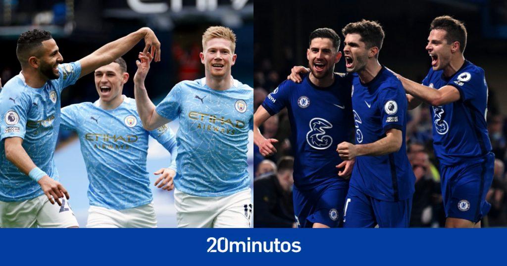 Sigue al Manchester City vs.  Final de la Liga de Campeones del Chelsea