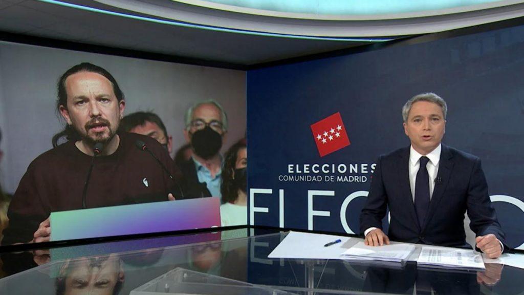 """Vicente Vallés se despide de Pablo Iglesias: """"Envejeció muy rápido"""""""
