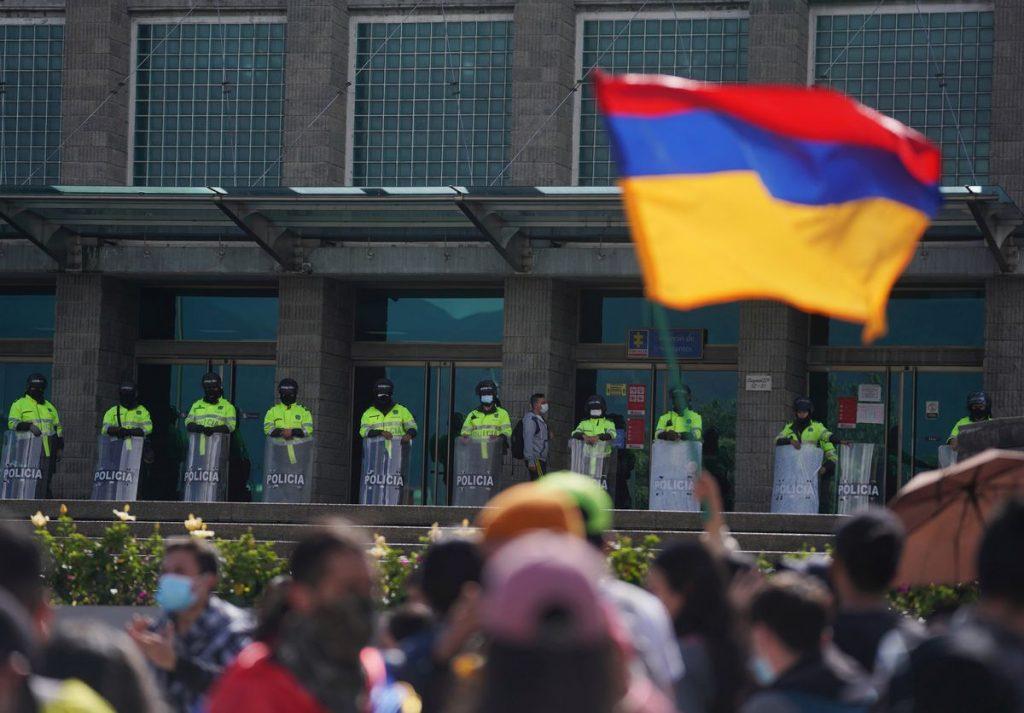 Violencia represiva en Colombia renueva llamado a reforma policial |  Internacional