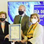 Zaragoza presenta la Estrella de Europa a Ángel Sanz Briz, un «héroe» que salvó a más de 5.000 vidas inocentes del Holocausto