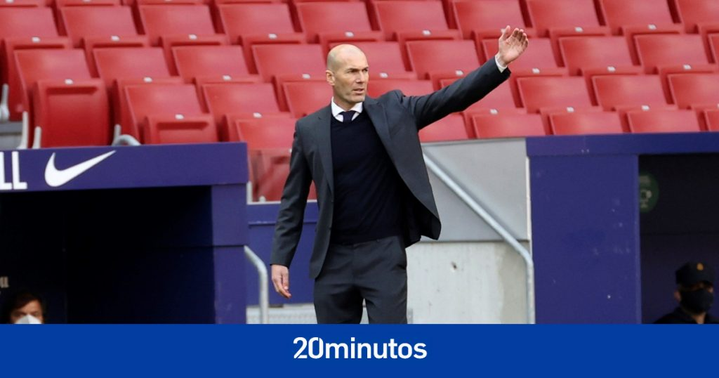 Zidane informa al Real Madrid que deja su puesto de entrenador