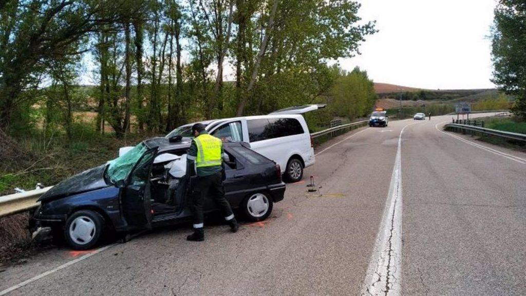 cuatro muertos y cinco heridos en dos accidentes en Toledo y Soria