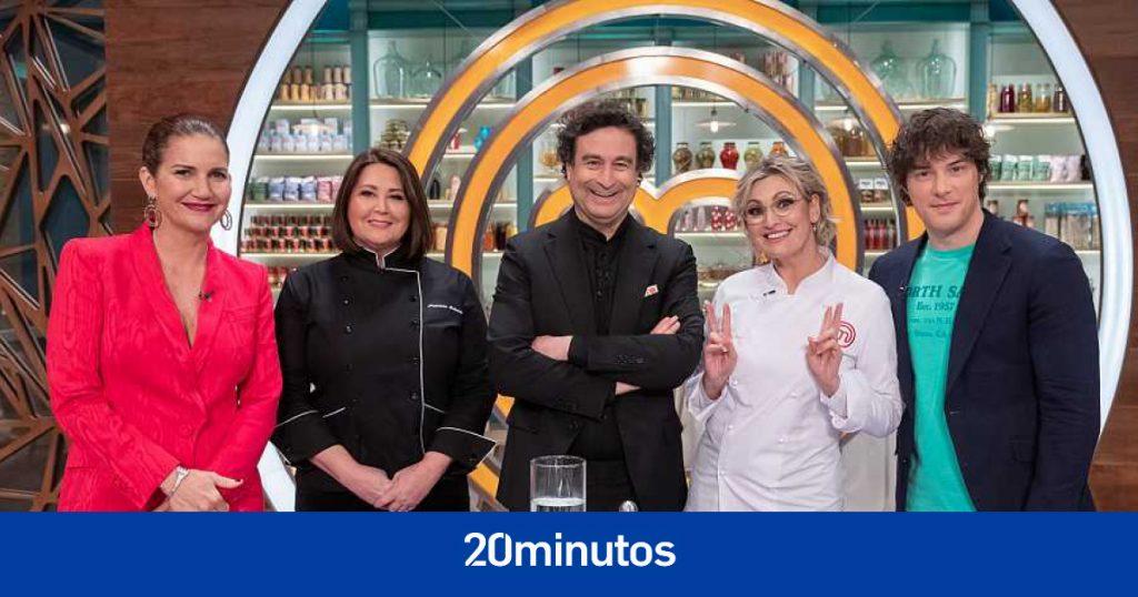 Ainhoa Arteta y Carlos Maldonado vuelven a las cocinas de 'MasterChef'