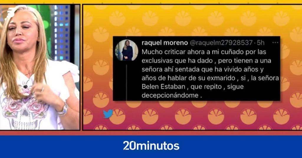 """Atentado de la hermana de Olga Moreno contra Belén Esteban con Jesulín y su dura respuesta: """"Basta de comparaciones"""""""