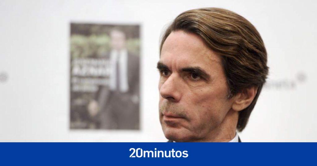 """Aznar dice que los indultos son un """"suicidio político"""" y debilitan al Estado"""