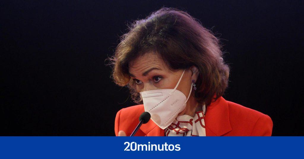 """Calvo admite que los indultos son """"una decisión política"""", que """"no tardarán"""" y que son un """"contrapeso"""" para los jueces"""