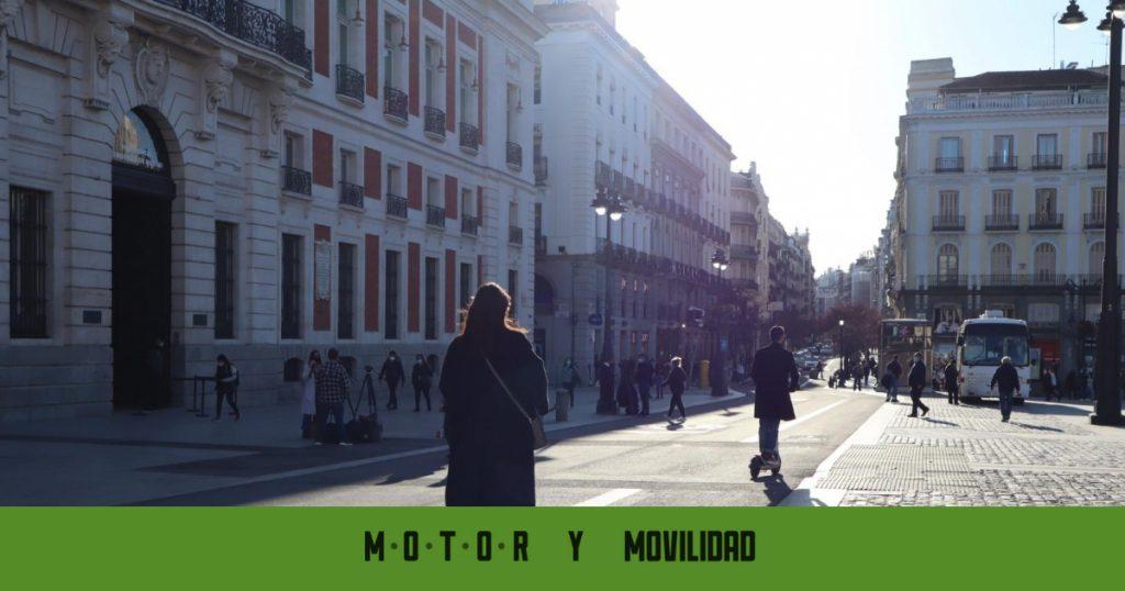 Cambios en Madrid 360 para motos eléctricas y patinetes
