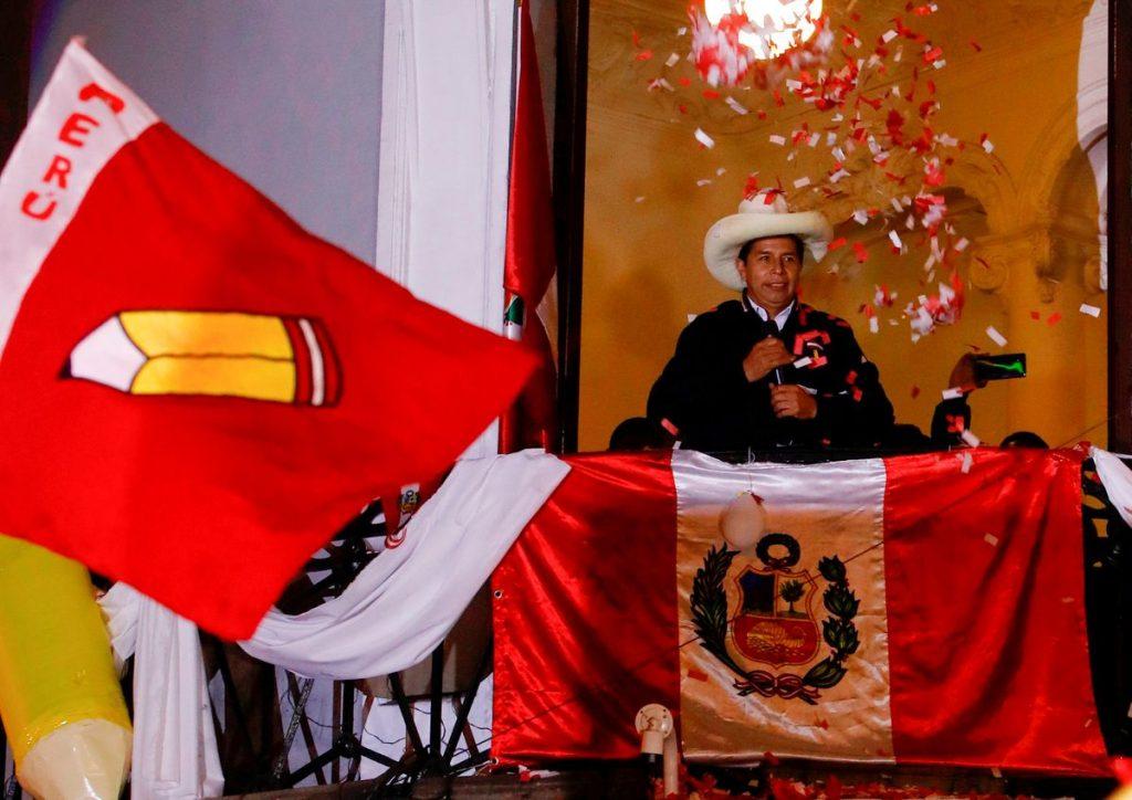 """Castillo se presenta como ganador en Perú antes de que finalice el conteo oficial: """"El pueblo ha hablado""""    Internacional"""