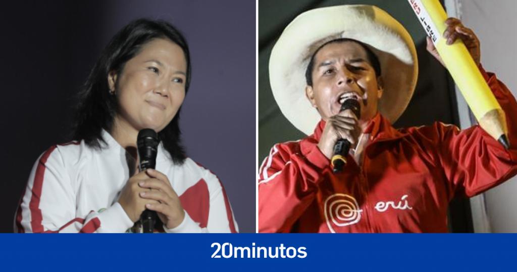 Castillo y Fujimori cierran campaña más polarizada en décadas en Perú