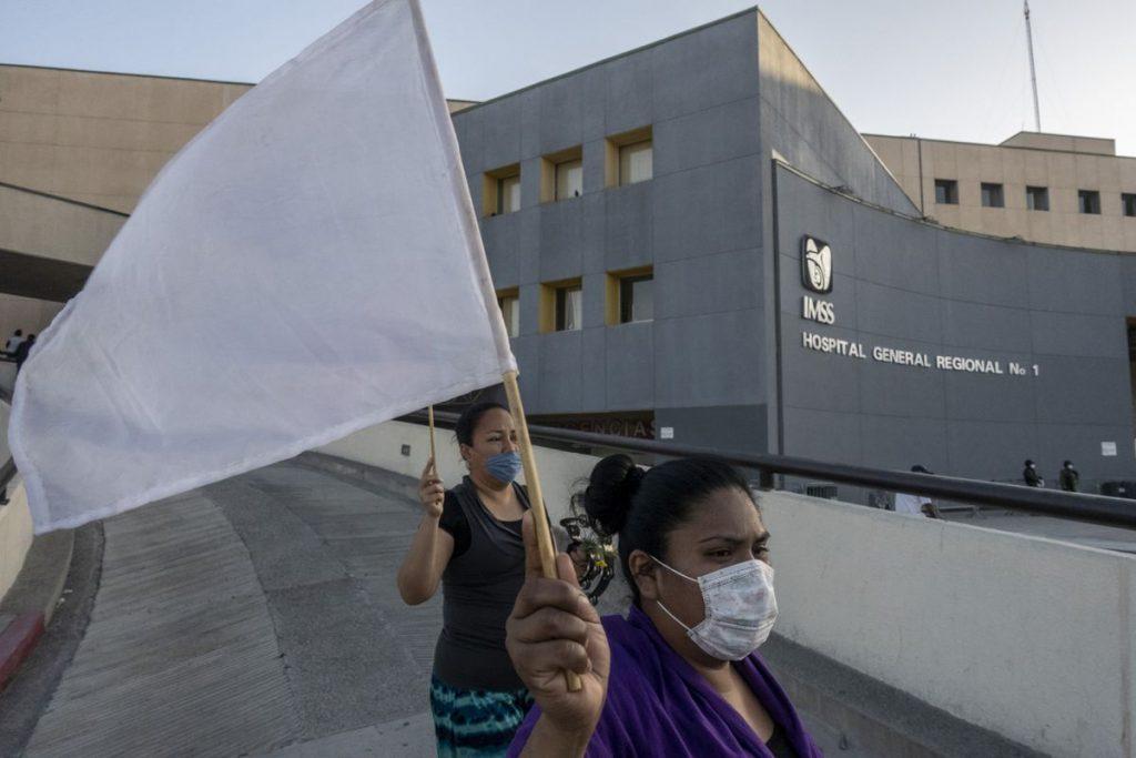 Combatiendo la pandemia y los engaños en Tijuana |  Sociedad