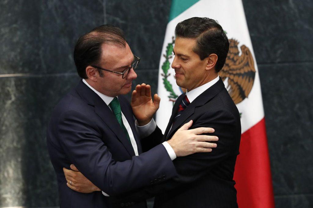 Corrupción: Videgaray, Lozoya, Robles, Peña Nieto ... procesamientos contra la salida del PRI mientras López Obrador ofrece pactos