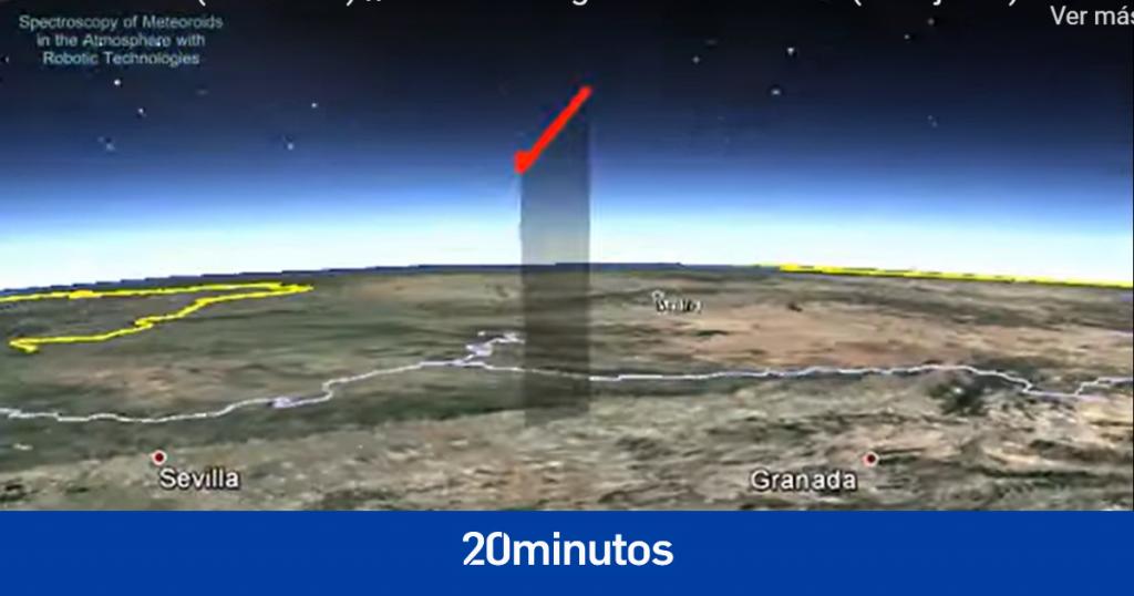 Detectan una bola de fuego sobrevolando el sur de España a 183.000 km / hora