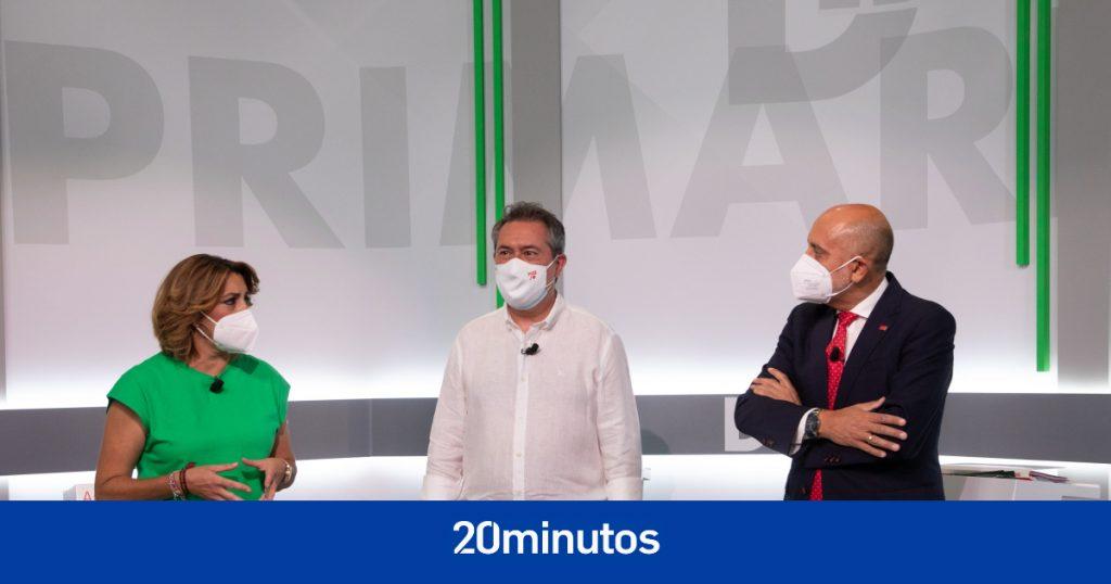 Díaz y Espadas chocan en debate que deja abiertas las primarias del domingo