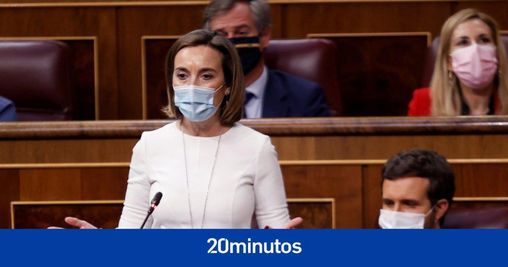 """El PP advierte que el indultado """"volverá a cometer un delito"""" y Calvo le acusa de haber ido """"detrás de Vox"""" para manifestarse en Colón"""