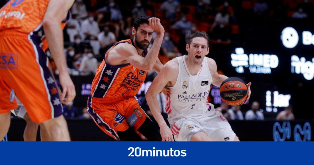 El Valencia arrasa con el Real Madrid y lleva las semifinales ACB al tercer partido