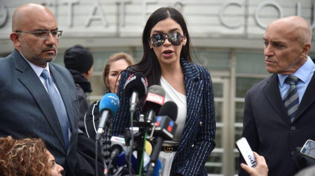 Emma Coronel, esposa de El Chapo, detenida en Estados Unidos por tráfico de drogas |  Internacional