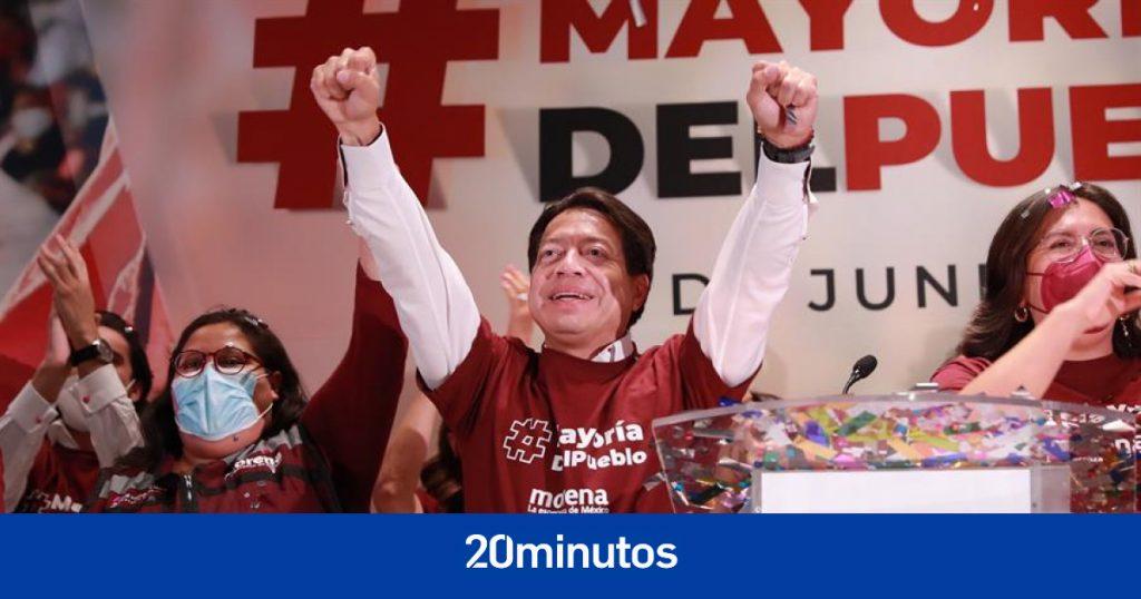 Empate entre el partido de López Obrador y la coalición opositora en los primeros resultados de las legislaturas mexicanas