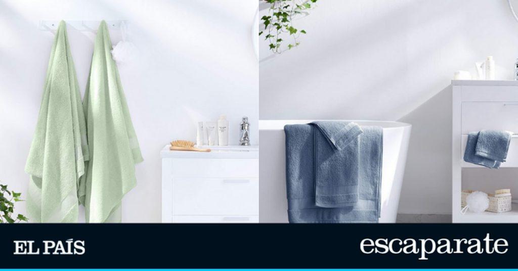 Estilo de vida: absorbe la humedad y no daña la piel: este es el juego de toallas, Amazon Basics    Forma de vida    Escaparate