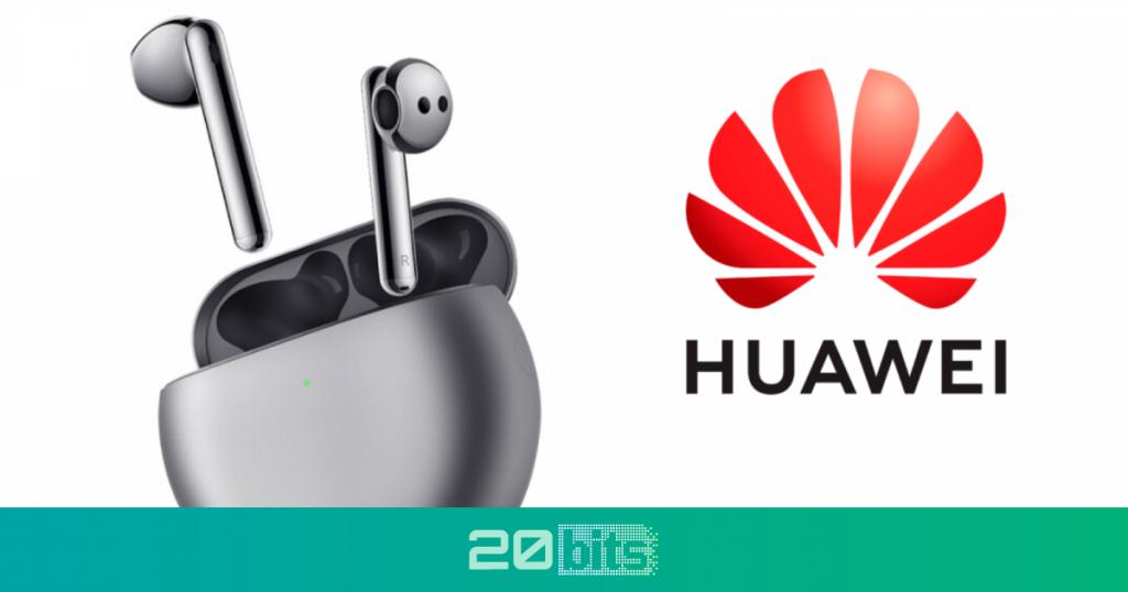 Estos son los nuevos auriculares de Huawei con cancelación de ruido y de diseño similar a los AirPods