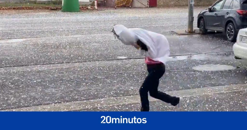 """Granizo del tamaño de pelotas de golf"", zonas inundadas ... DANA causa estragos en varios puntos de España"