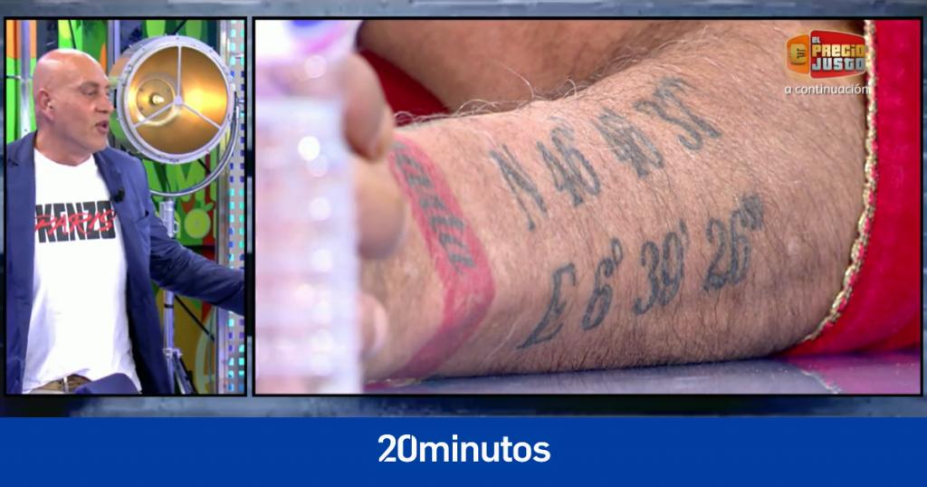 """""""Informaré al artista del tatuaje por estafa"""""""