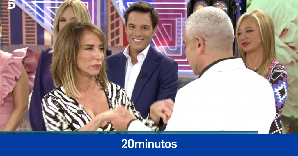 Jorge Javier Vázquez confiesa lo que más desea de María Patiño
