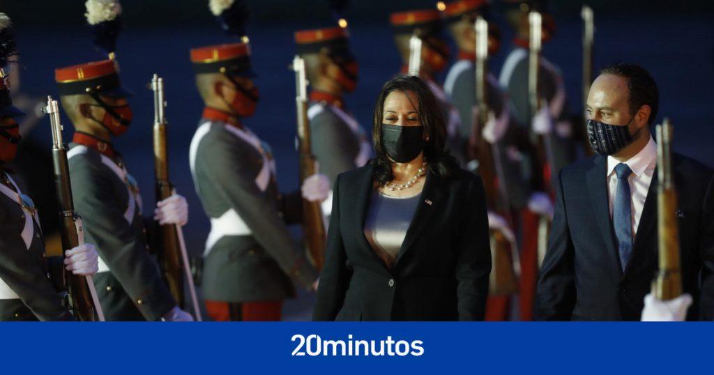 Kamala Harris llega a Guatemala para su primera gira internacional con la inmigración en el centro de atención