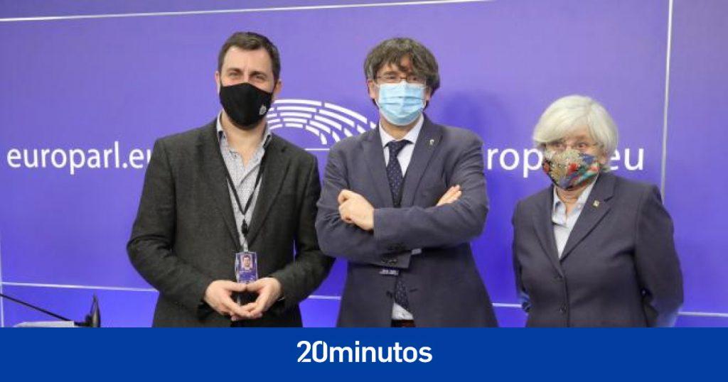 La justicia europea restablece temporalmente la inmunidad de Puigdemont, Comín y Ponsatí