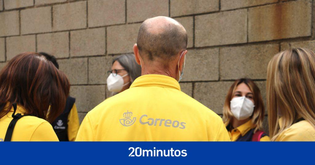 """La plantilla de Correos de Barcelona inicia huelga de tres días contra la """"precariedad"""" del servicio"""