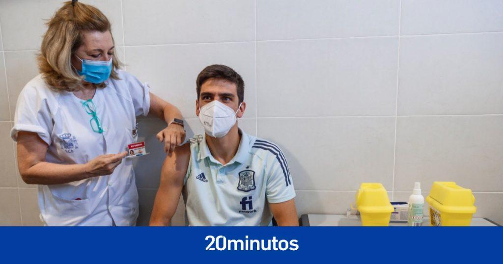 La selección española recibe la vacuna contra el coronavirus tres días después del debut en la Euro 2020