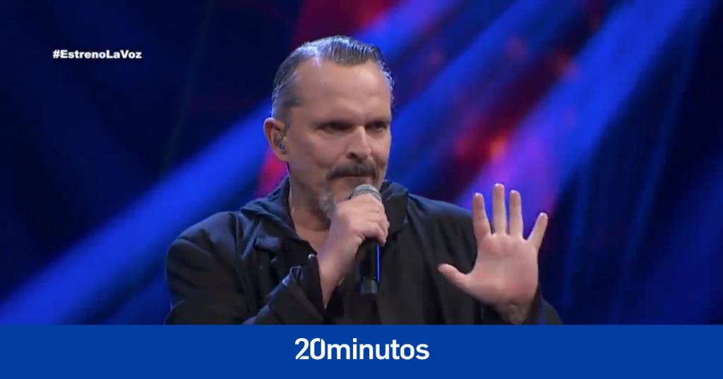 """Miguel Bosé reaparece en televisión como """"entrenador"""" de """"La voz México"""" y las cadenas están preocupadas por su condición"""