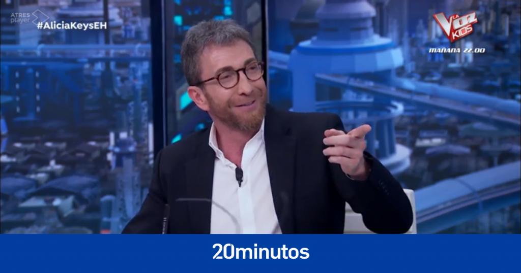 Pablo Motos revela en 'el hormiguero' lo que más le molesta de su esposa