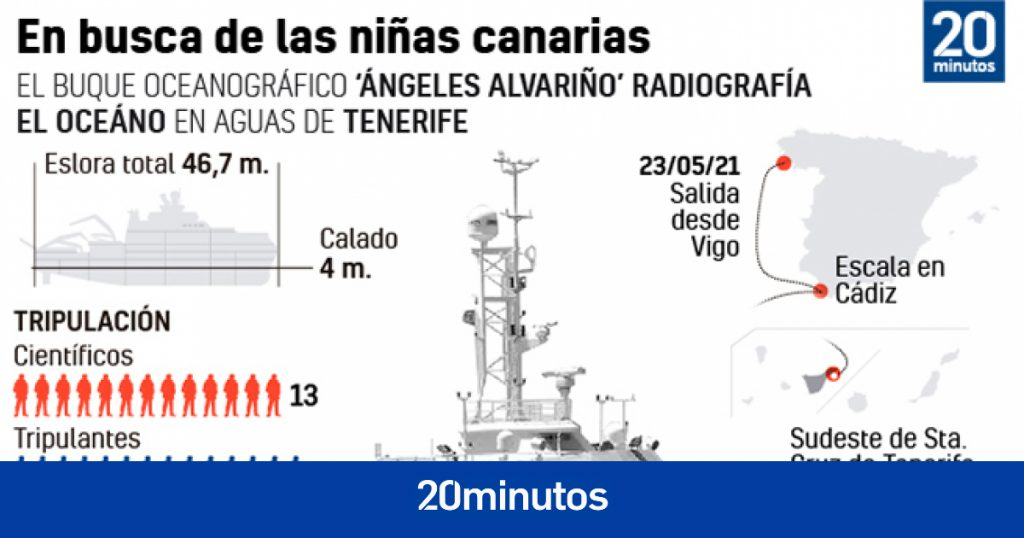 Robot encuentra cilindro de oxígeno y sábana en zona donde se buscan niñas desaparecidas en Tenerife