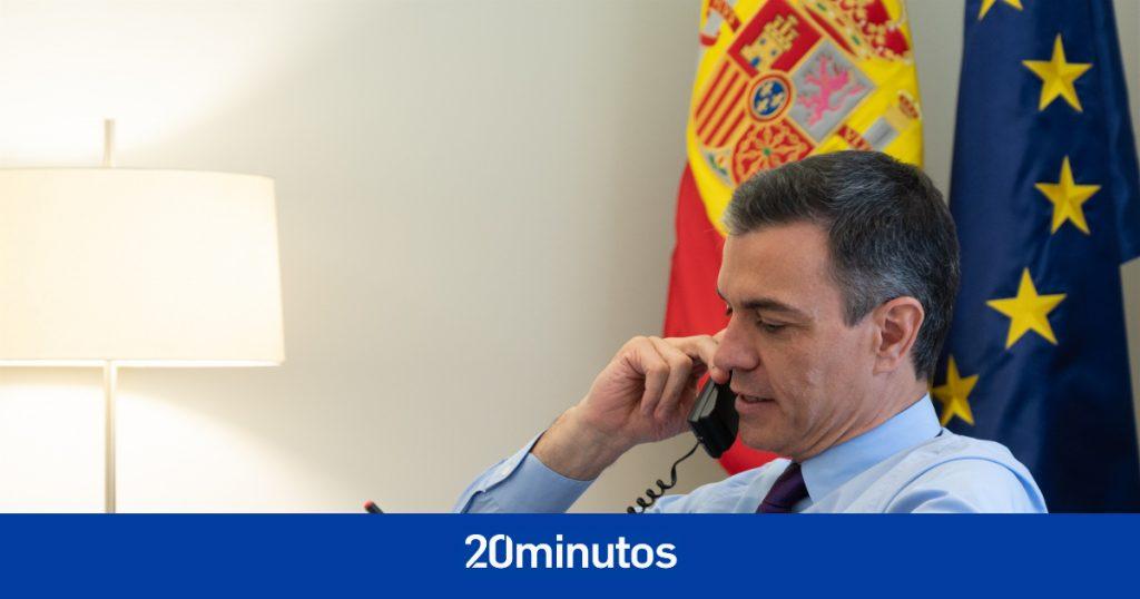 """Sánchez y Aragonès conversan durante 40 minutos, comparten la apuesta por el """"diálogo"""" y se encuentran en La Moncloa este mes"""