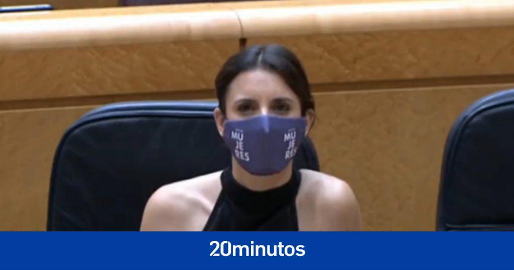 """Senadora del PP pide a Irene Montero que """"corte el arco"""" y siga el camino de Pablo Iglesias"""