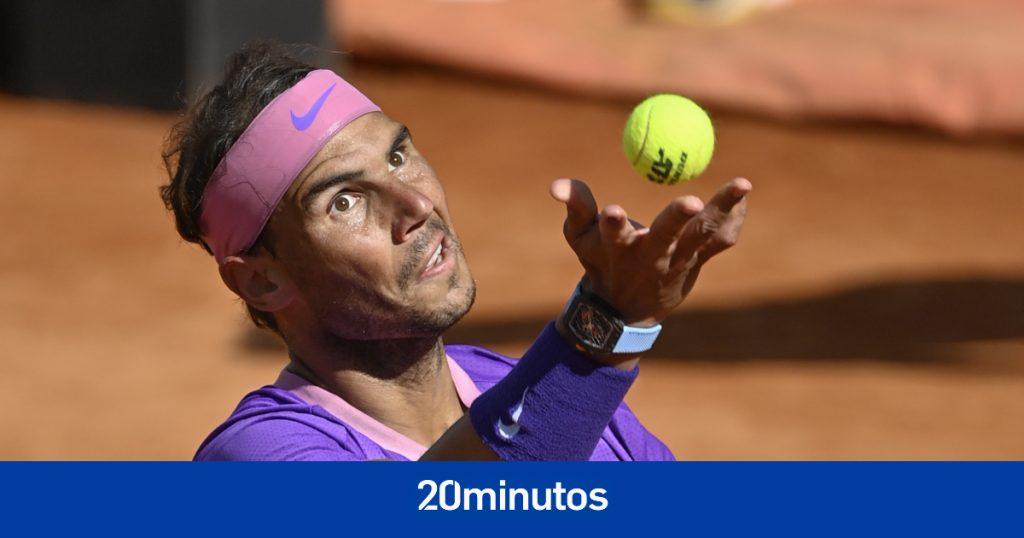 Sigue en directo el Rafa Nadal contra Alexei Popyrin de Roland Garros