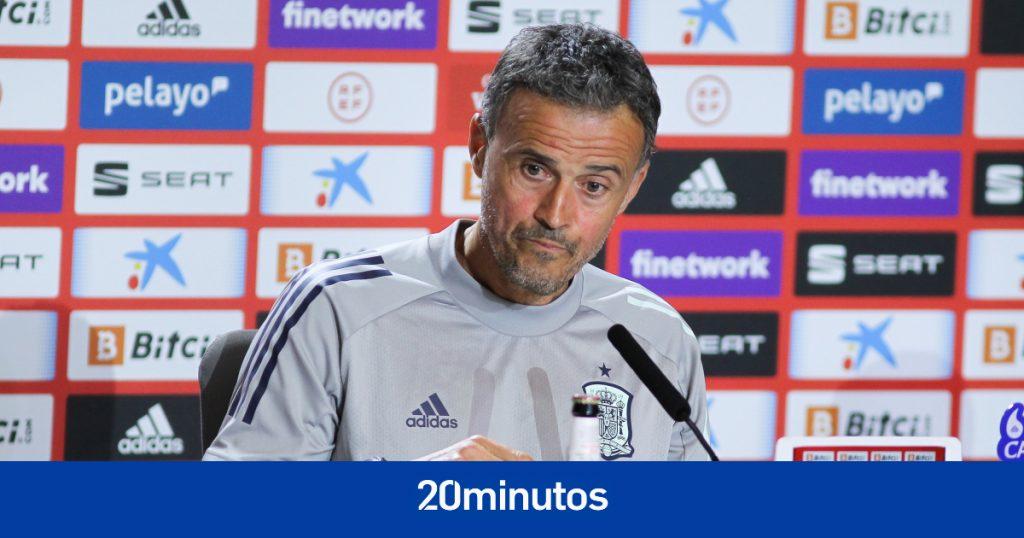 Sigue en directo la rueda de prensa de Luis Enrique sobre la vacunación de la selección, las burbujas, la Eurocopa ...