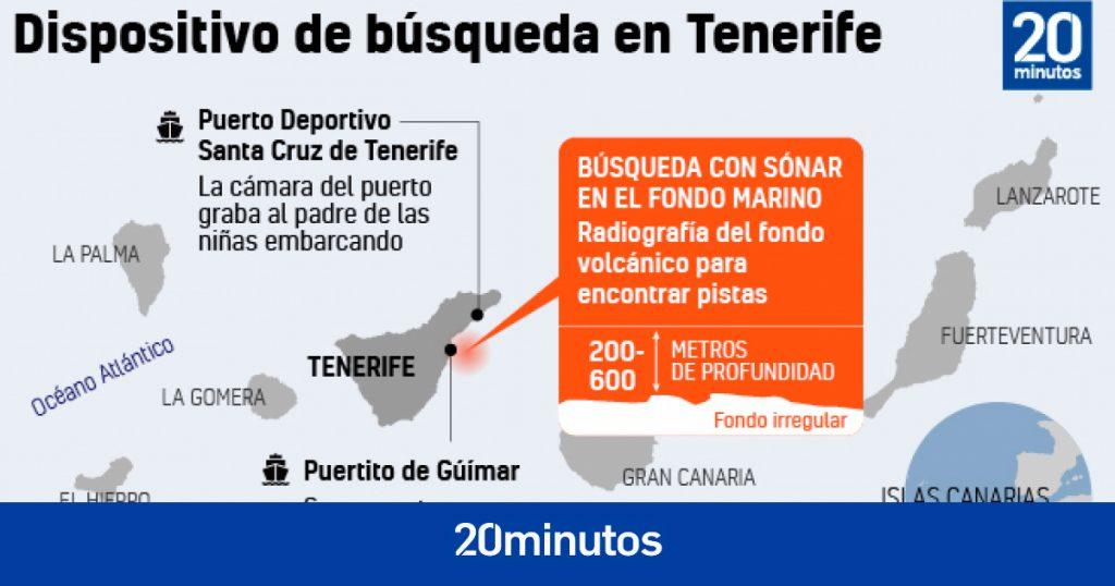 "Sonar de barco que busca chicas en Tenerife detecta ""algo extraño"""