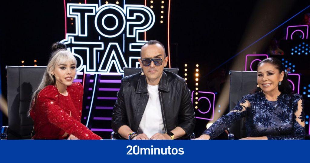"""Telecinco relega a """"Top Star"""" a """"altas horas de la noche"""" el sábado"""