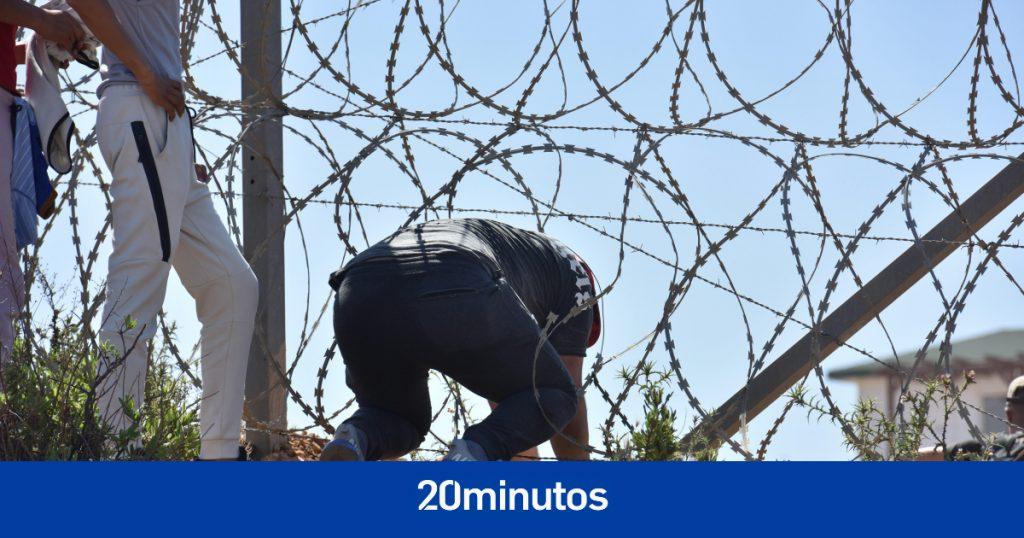Tensión en la frontera de Ceuta tras varios intentos de entrar en Tarajal