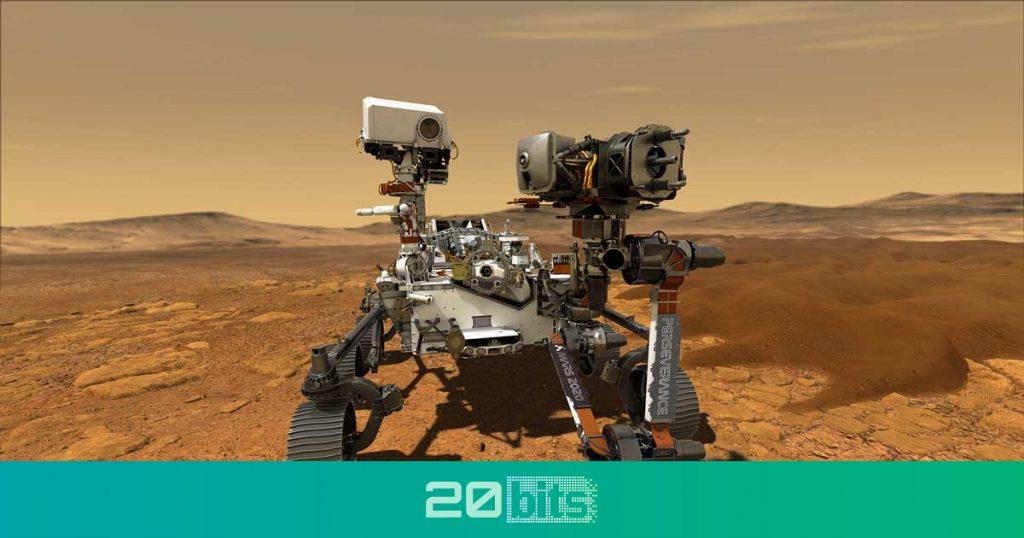 analizará el cráter 'Jezero' en Marte