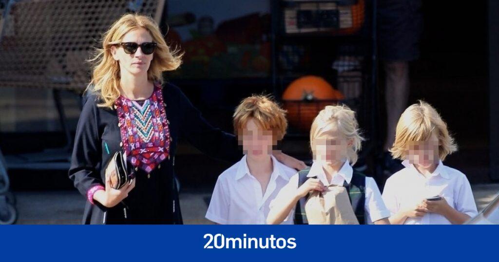 también lo son los tres hijos adolescentes de Julia Roberts