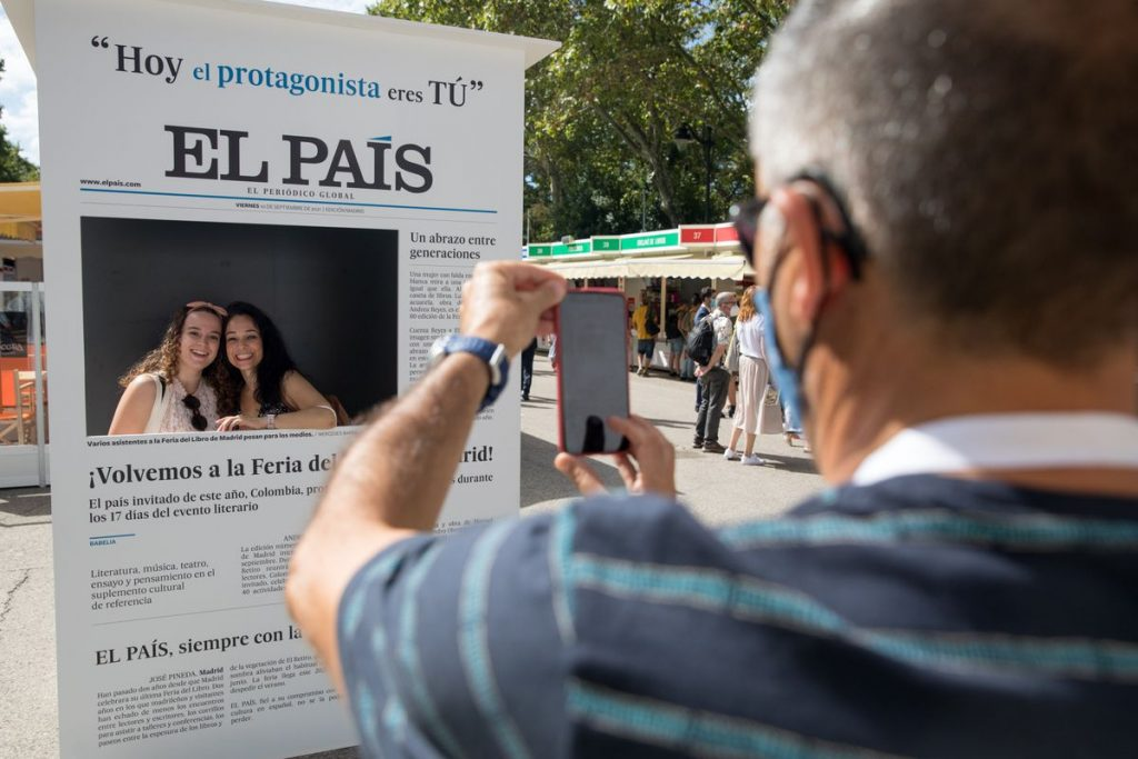 Feria del Libro de Madrid y EL PAÍS se reencuentran    EL PAÍS que hacemos